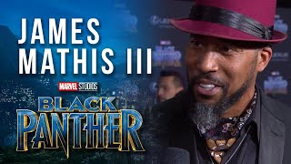"""James Mathis III, Voice of Black Panther on Marvel's """"Avengers: Black Panther's Quest"""""""