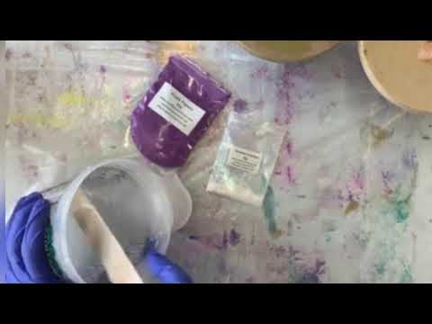 How to mix Resin Pigments to create Chameleon effects in Art