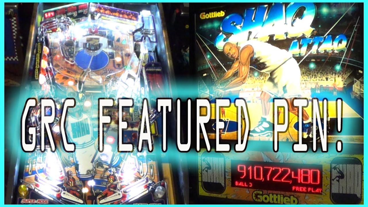 SHAQ ATTAQ Pinball Machine ~ Shaq Diesel Mashup? ~ GRC Feature Gameplay!
