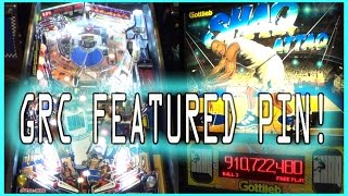1995 Shaq Attaq Pinball Machine ~ Shaq Diesel Mashup? ~ GRC Featured Pin!