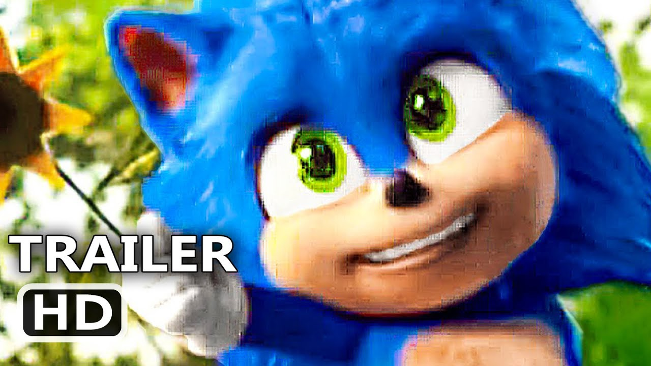 Sonic The Hedgehog Baby Sonic Trailer New 2020 Sonic Movie Hd Youtube