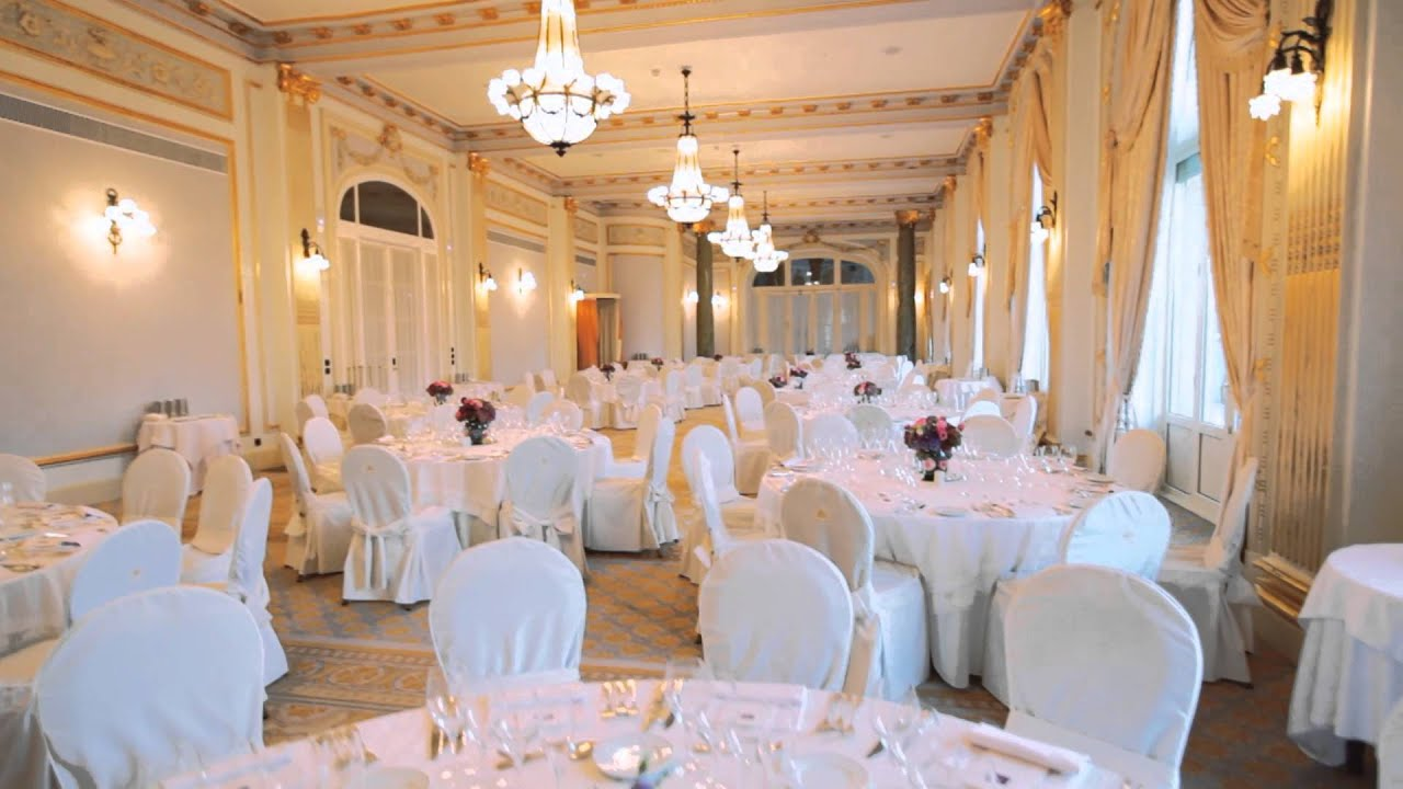 Plan your wedding at Hotel Maria Cristina, San Sebastian - YouTube