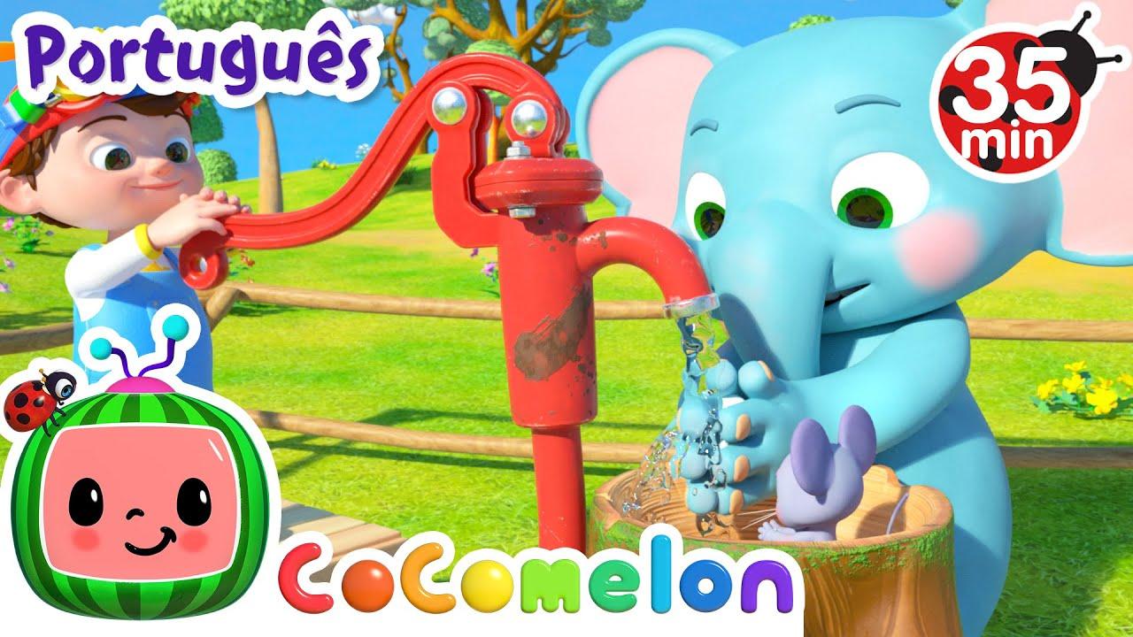 CoComelon em Português   Lave as mãos   Músicas Infantis   Compilação de Desenhos Animados
