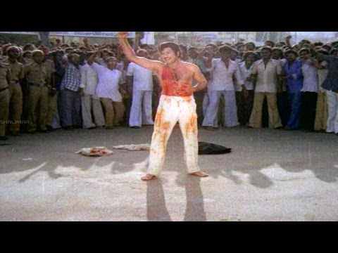 Eenadu Movie || Best Climax Scene || Krishna,Radhika,Rao Gopal Rao
