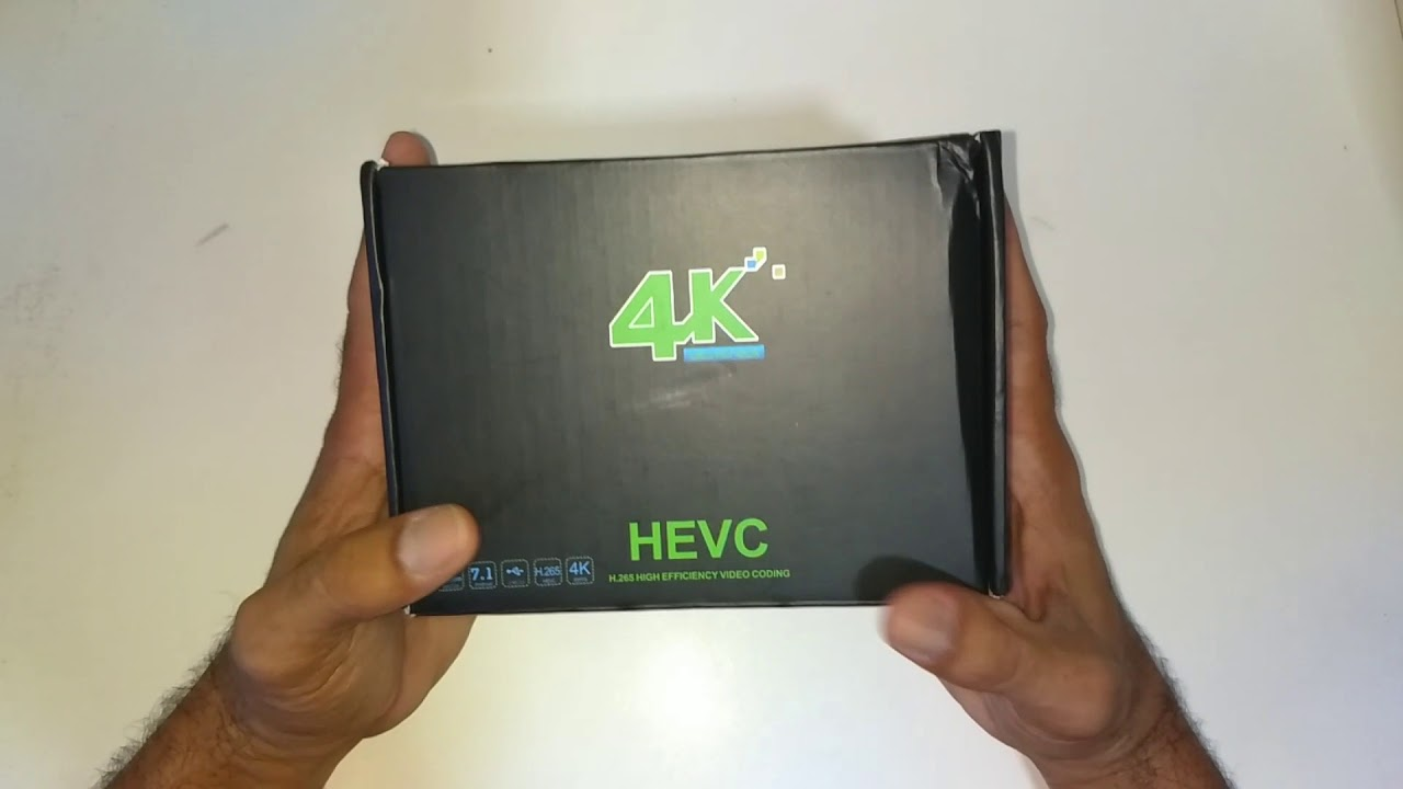 Unboxing: TV Box MX9 PRO 4K, Android 7 1  4GB DDR3