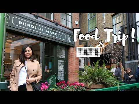 London Vlog: Borough Market + TATE + Sky Garden | Mila Gulfan