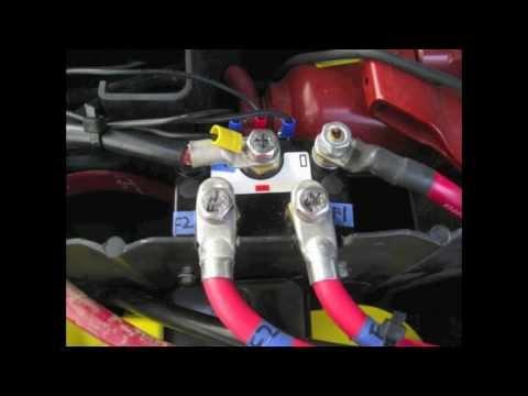 Warn Winch Rebuild Video 4 Albright Solenoid Install Youtube
