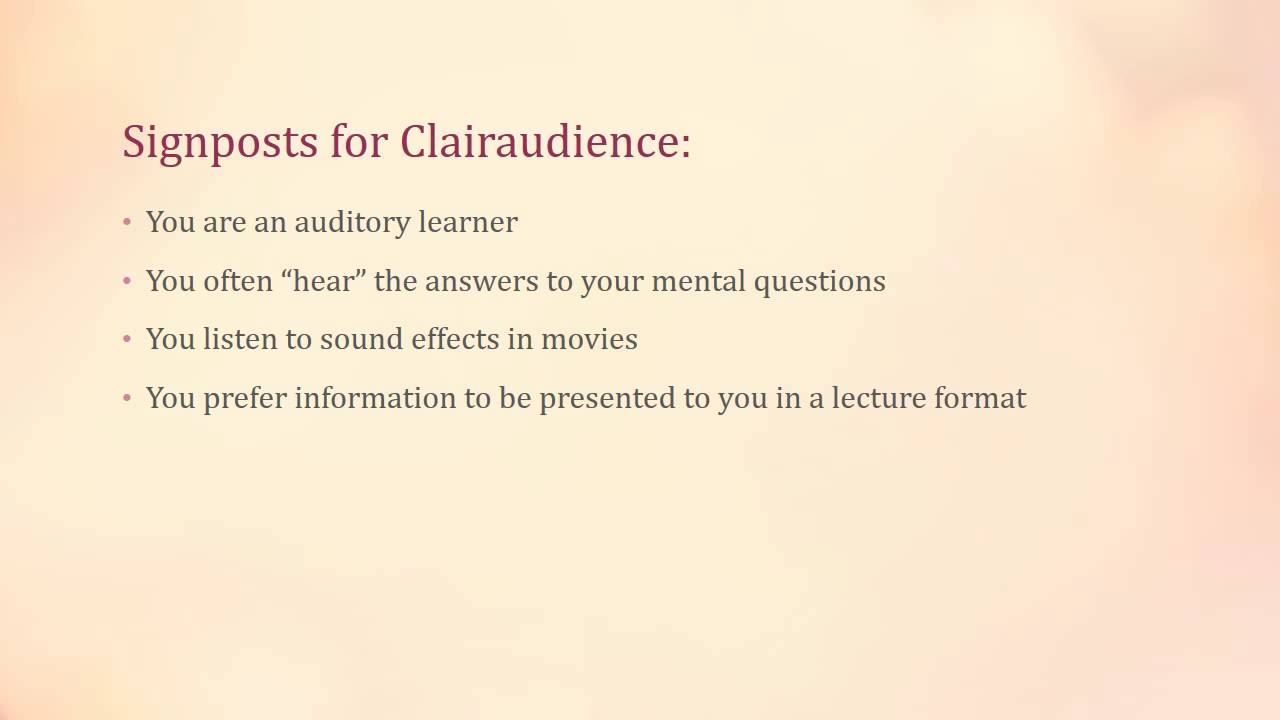 How Do You Know If You're Clairaudient? - Spiritual Mechanic