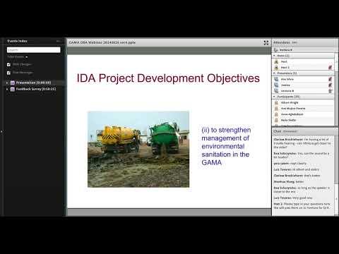 Innovations in Development Finance Webinar - Sanitation project in Accra, Ghana (webinar)