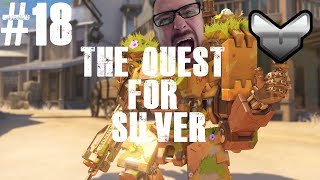 WE'RE RUNNING OUT OF TIME!! |  The Quest For Silver #18 | Overwatch Livestream with Mugdock