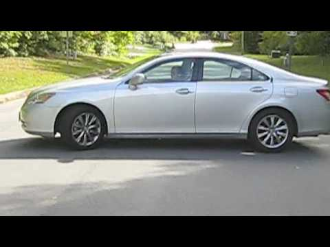 2007 Lexus ES350 Ultra Luxury Start Up, And Driving (Exterior View)