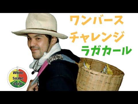 ワンバースチャレンジ / ラガカール a.k.a 竹田ピストン #ラガカールチャレンジ