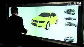 WorldLine Technology-3D Multi-Touch User-Interface Demo