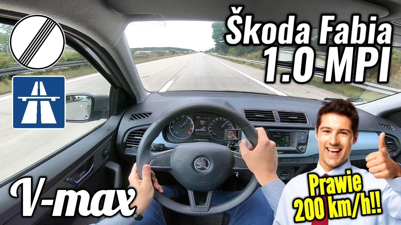 Škoda Fabia 1.0 MPI - V-max. Gdy przedstawiciel handlowy się śpieszy.