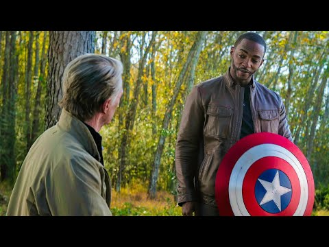 """Captain America Gives Shield to Falcon – """"I'll DO MY BEST"""" – Avengers: Endgame (2019) Movie Clip"""