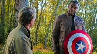 "Captain America Gives Shield to Falcon - ""I'll DO MY BEST"" - Avengers: Endgame (2019) Movie Clip"