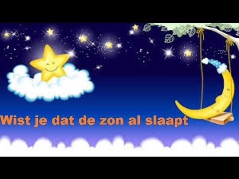Wist je dat de zon al slaapt - Kinderliedje - Slaapliedje