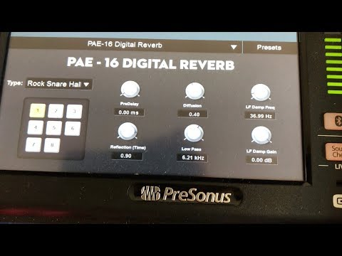 What do the Effects Sound Like On the Presonus StudioLive 24 Series III?