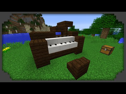 how to make a piano in minecraft pe