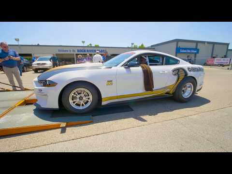 2019 Mustang Cobra Jet delivered to Anderson Rock River Ford