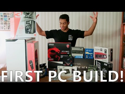 My first Monster Intel PC build!