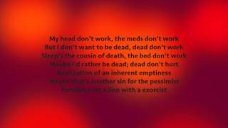 VINNIE PAZ  - Is Happiness Just A Word (Lyrics)