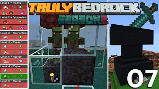 Villager Trading TRICK | 1 For 1 Trading | UNLIMITED Emeralds, Books, & MORE | Truly Bedrock S2 EP7