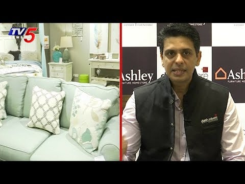 Dash Square Launches First Ashley Furniture Store In Hyderabad | TV5 News