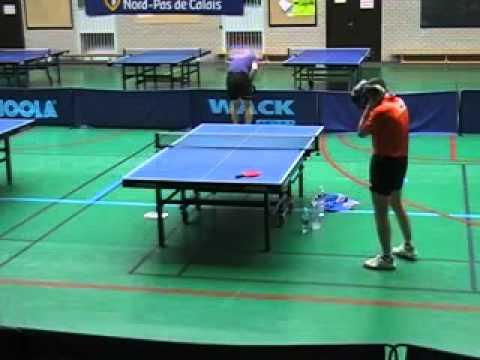 Hardbat : demi-finale du tournoi de Douai 2009
