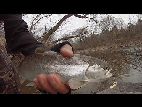 2015 Spring Trout Fishing | Sheboygan River, WI