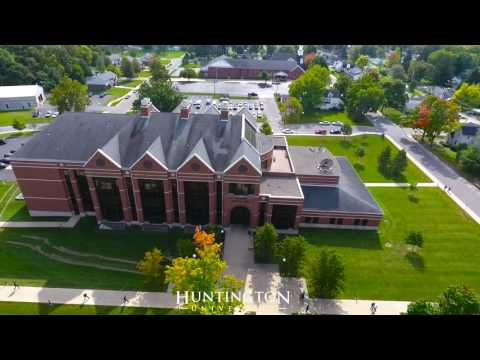 Huntington University Campus Tour From The Sky