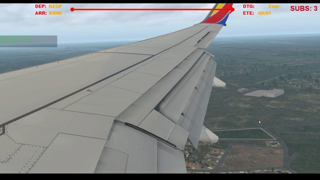 Landing in Baltimore
