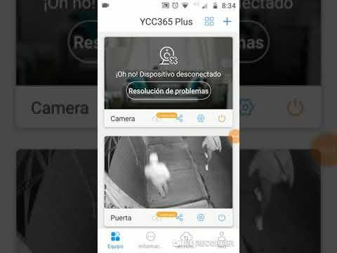 Configuracion AP , camara ip app ycc365 plus