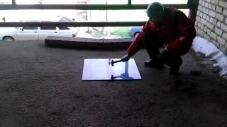 Краш-тест фартука из закаленного стекла Саратов. Студя-салон