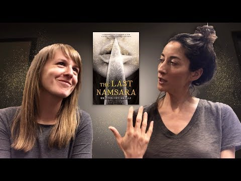 Dragon Lovers Anonymous with Kristin Ciccarelli (author of THE LAST NAMSARA)