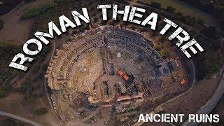 Ancient Roman Theatre Ruins