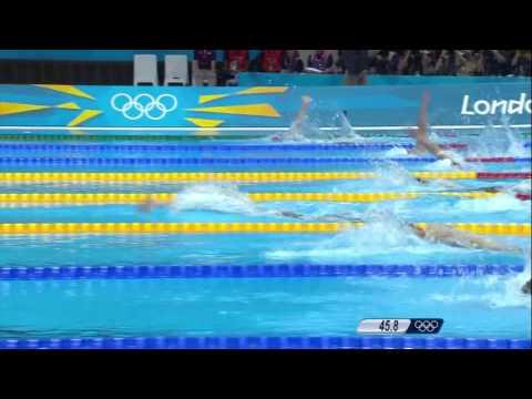 Missy Franklin Breaks 200m Backstroke World Record   London 2012 Olympics