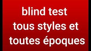 blind test musiques de tous styles et de toutes époques