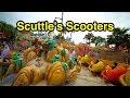 Scuttle's Scooters in Mermaid Lagoon DisneySea - Tokyo, Japan スカットルの…