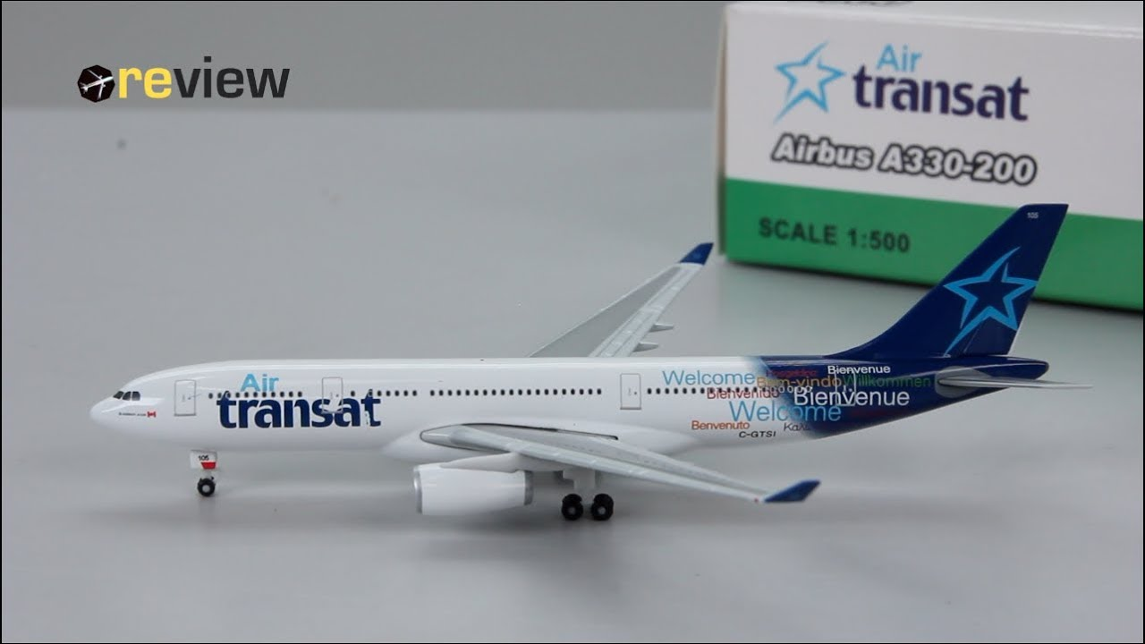 Review 161 Air Transat Airbus A330 200 Youtube