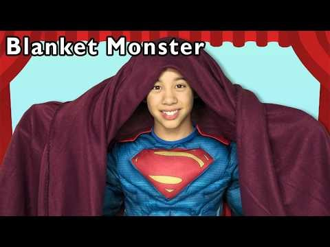 Superhero Blanket Monster and More   FAMILY FUN   Baby Songs from Mother Goose Club!