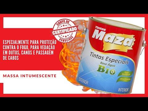 MASSA INTUMESCENTE - Tintas Maza