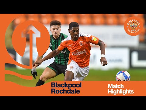 Blackpool Rochdale Goals And Highlights