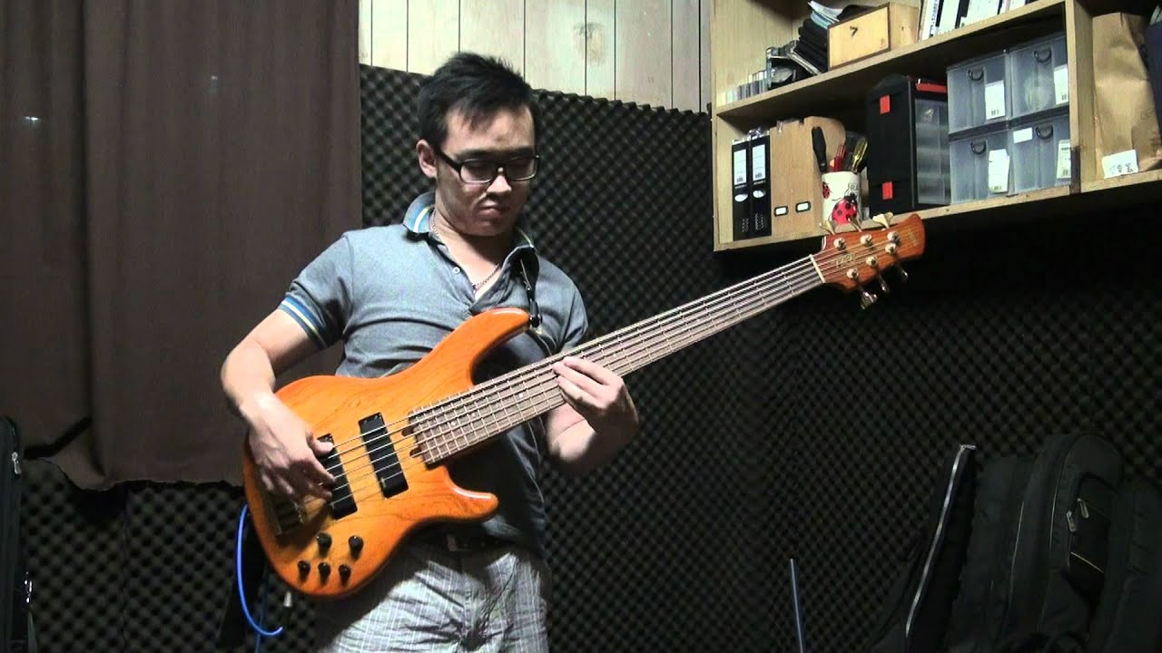 my yamaha 6 string bass slap and pop improvise youtube. Black Bedroom Furniture Sets. Home Design Ideas
