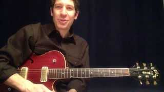 "Two-Minute Guitar Lesson With TAB : ""Soul Man"" by Sam & Dave"