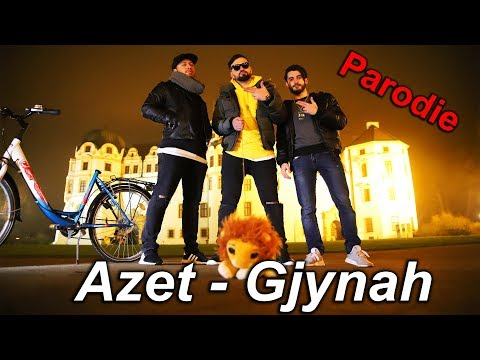 AZET - GJYNAH (beat by Lucry) (Official 4K Video) | PARODIE | KüsengsTV