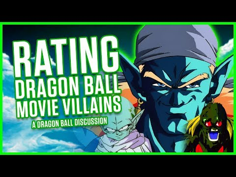 RATING DRAGON BALL MOVIE VILLAINS | A Dragon Ball Discussion | MasakoX