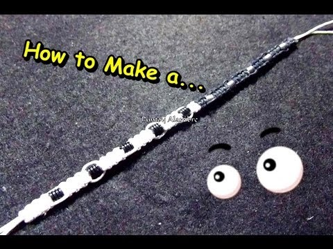how to make a yin and yang friendship bracelet