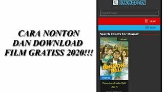 TERBARUU!! Tutorial Cara Menonton Film Gratis dan Bisa di Download