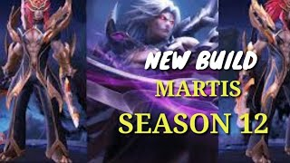New Build Martis Season 12 auto SAVAGE-mobile legend-